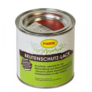 Beutenschutz Lack rot 375 ml-0