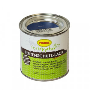 Beutenschutz Lack blau 375 ml-0