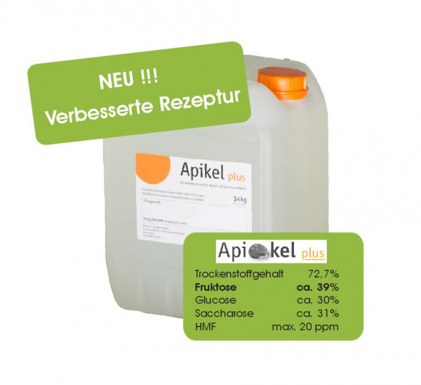 APIKEL PLUS Bienenfutter (14 kg/ Kanister)-0