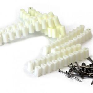 Abstandröllchen aus Plastik-0