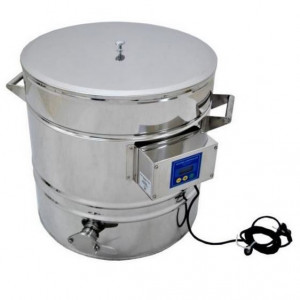 Abfüllkübel mit Heizung 200 Liter-0