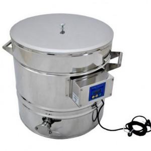 Abfüllkübel mit Heizung 100 Liter-0