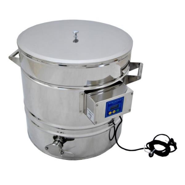 Abfüllkübel mit Heizung 70 Liter-0