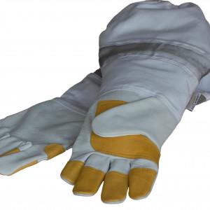 Imkerhandschuhe aus Rindnappaleder-0