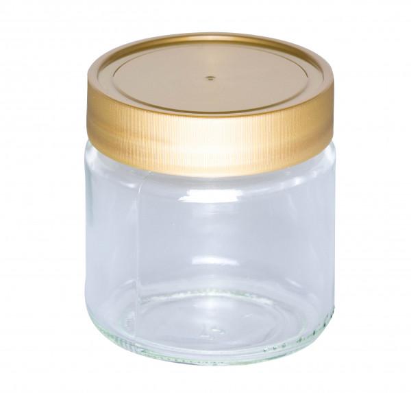 Neutrales Schraubglas 250g im Karton-1118