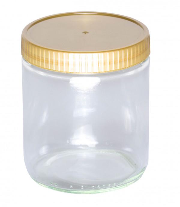 Neutrales Schraubglas 500g im Karton-1115