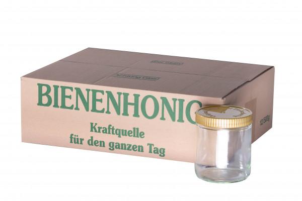 """Neutrales Schraubglas """"Imkerhonig"""" 500g im Karton-0"""
