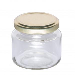 """Twist Off Rundglas 125 g lose """"gold""""-0"""