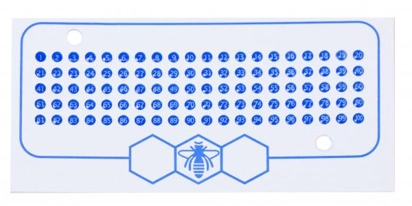Opalith Karte blau-0
