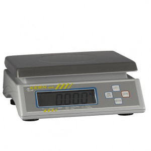Digitale Tischwaage bis 6 kg; geeicht-0